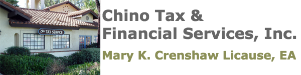 Chino Tax & Financial Service, Inc